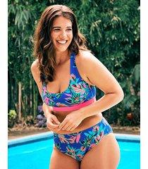 fiji palm soft crop bikini top
