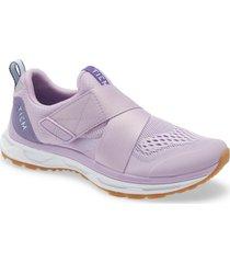 women's tiem slipstream cycling sneaker, size 6 m - purple