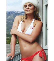 lindsey vonn  bikini fur hat    2.5 x 3.5 fridge magnet