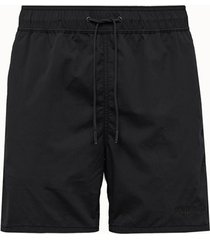 aime' leon dore shorts core in nylon nero