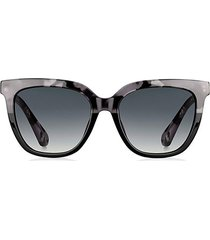 kahli 53mm rectangular sunglasses