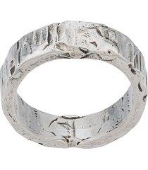 emanuele bicocchi handmade band ring - silver