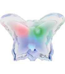 abajur luminária led de tomada art house bivolt 1w borboleta quarto infantil criança
