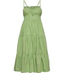 alexia midi dress dresses everyday dresses grön faithfull the brand