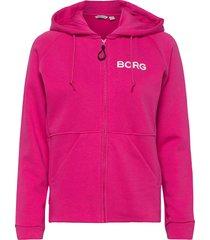 hooded jacket fanny fanny hooded jacket hoodie rosa björn borg