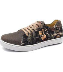 sapatênis beach acetinado couro shoes grand masculino - masculino