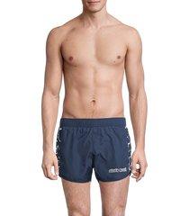 roberto cavalli men's beachwear costume shorts - navy - size xl