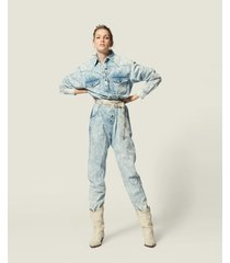 isabel marant jumpsuit idesia blauw