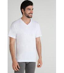 camiseta interior algodón blanco l