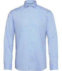 bs basswood skjorta business blå bruun & stengade