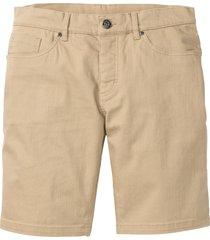 bermuda elasticizzati regular fit (beige) - bpc bonprix collection