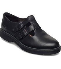 alexa agnes loafers låga skor svart clarks