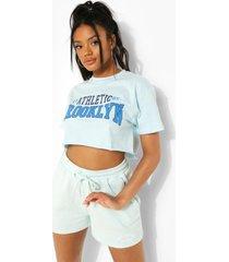 petite kort brooklyn t-shirt, light blue