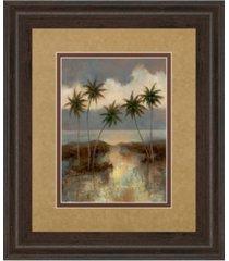 "classy art after the rain ii by t.c. chiu framed print wall art, 34"" x 40"""