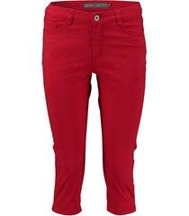 broek capri rood