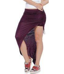 falda larga vinotinto atypical