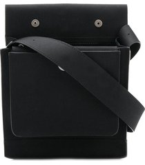 mackintosh 0004 black bonded cotton 0004 pouch