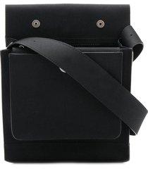 mackintosh 0004 black bonded cotton 0004 pouch