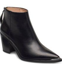 mirte_f20_ne shoes boots ankle boots ankle boot - heel svart unisa