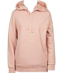 emporio armani dames hoodie - roze