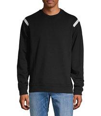 stretch pullover sweatshirt