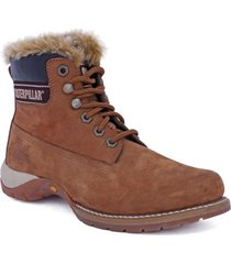 botin casual casi fur café cat