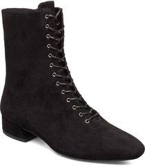 joyce shoes boots ankle boots ankle boots flat heel svart vagabond