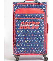 walizka na kółkach z logo