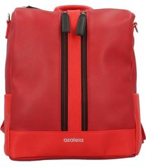 cartera mochila convertible amalia casual rojo azaleia