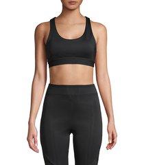 koral activewear women's racerback sports bra - black - size xs