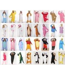 hot unisex adult animal onesies onsie kigurumi pyjamas sleepwear onesie dress