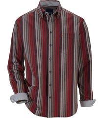 overhemd babista bordeaux::grijs