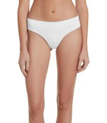 women's honeydew intimates bailey hipster panties, size medium - white