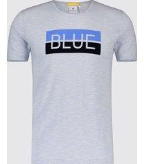 blue industry t-shirt print kbis19.m50 blauw