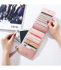portafoglio elegante con 14 card slots portacarte portacellulare