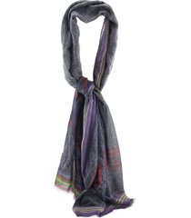 etro delhy jacquard scarf with paisley