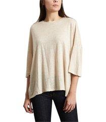 oversized linen sturdy t-shirt