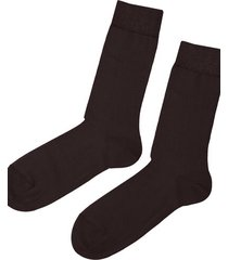 calzedonia short warm cotton socks man brown size 40-41