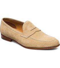 footwear mw - f359 loafers låga skor beige sand