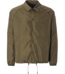 belstaff teamster coach jacket - sage green - c50n0599-grn