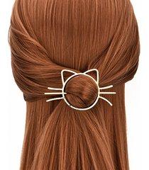 fermagli per capelli a forma di gatto
