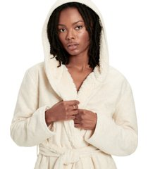 ugg women's portola faux fur reversible robe