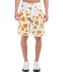 bermuda shorts pantaloncini uomo gold baroque