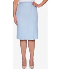 alfred dunner women's missy french bistro skirt