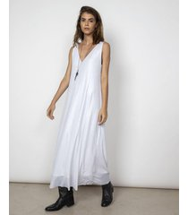vestido blanco benjamina saint micheal