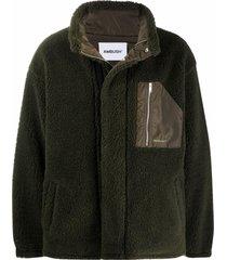 ambush military green fleece jacket