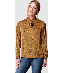 blouse laura kent hazelnoot