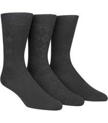 calvin klein men's socks, rayon dress men's socks 3 pack
