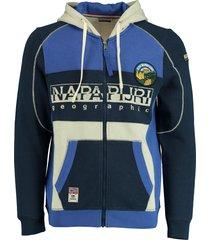 napapijri vest multicolor blauw np0a4e23/bb6