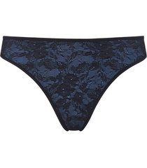 the art of love 4 cm thong |  bijou blue - s